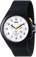 Buy Braun Sports Mens Chronograph Watch - BN0115WHBKBKG online