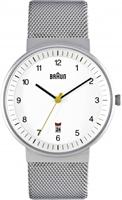 Buy Braun Classic Mens Date Display Watch - BN0032WHSLMHG online