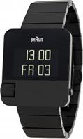 Buy Braun Prestige Mens LCD Screen Black Steel Watch - BN0106BKBTG online