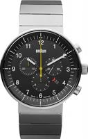 Buy Braun Prestige Mens Chronograph Watch - BN0095BKSLBTG online