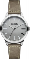 Buy Bench Unisex Stainless Steel Fashion Watch - BC0424SLBR online