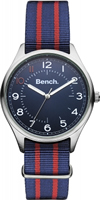 Buy Bench Mens Fabric Fashion Watch - BC0425SLBL online