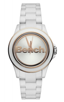 Buy Bench Ladies White Fashion Watch - BC0426RSWH online