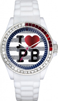 Buy Paul's Boutique Luna Ladies Crystal Set Watch - PA003WHWH online