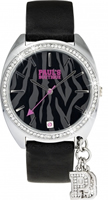 Buy Paul's Boutique Paris Ladies Crystal Set Watch - PA006BK online
