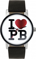 Buy Paul's Boutique Mia Ladies Black Leather Watch - PA012CH online