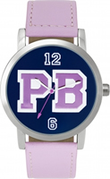 Buy Paul's Boutique Mia Ladies Lilac Leather Watch - PA012PK online