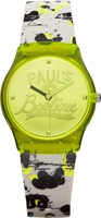 Buy Paul's Boutique Betsy Ladies Yellow Graffiti Watch - PA016GRGY online