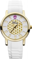Buy Paul's Boutique Ladies Gold Skull Pattern Watch - PA018WHGD online