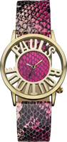 Buy Paul's Boutique Ladies Pink Snake Pattern Watch - PA027PKGD online