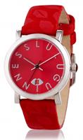 Buy Lulu Guinness Glamour Lip Print Ladies Date Display Watch - LG20009S02X online