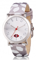 Buy Lulu Guinness Glamour Lip Print Ladies Date Display Watch - LG20009S03X online