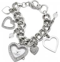 Buy Lipsy Ladies Crystal Set Charms Watch - LP041 online