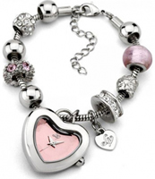Buy Lipsy Ladies Charms Crystal Set Watch - LP058 online