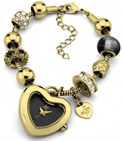 Buy Lipsy Ladies Charms Crystal Set Watch - LP059 online