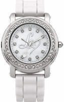 Buy Lipsy Ladies Crystal Set Stainless Steel Watch - LP095 online