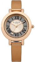 Buy Lipsy Ladies Rose Gold PVD Watch - LP114 online