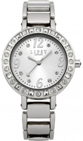 Buy Lipsy Ladies Crystal Set Stainless Steel Watch - LP127 online