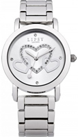 Buy Lipsy Ladies Crystal Set Stainless Steel Watch - LP131 online