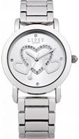 Buy Lipsy Ladies Crystal Set Stainless Steel Watch - LP131 online