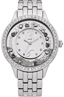 Buy Lipsy Ladies Crystal Set Stainless Steel Watch - LP139 online