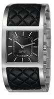 Buy Esprit Catelli Ladies Black Leather Trim Watch - ES105922001 online