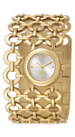 Buy Esprit Etiquette Ladies Gold IP Bracelet Watch - ES105872003 online