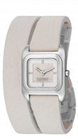 Buy Esprit Gravity Ladies Ivory Wraparound Strap Watch - ES105702002 online