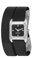 Buy Esprit Gravity Ladies Black Wraparound Strap Watch - ES105702001 online