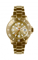 Buy Ice-Watch Ice-Alu Unisex Date Display Watch - AL.GD.U.A.12 online