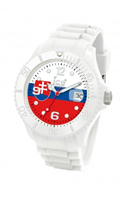 Buy Ice-Watch Ice-World Slovakia Unisex Date Display Watch - WO.SK.U.S online