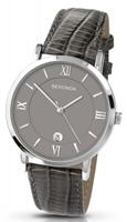 Buy Sekonda Mens Date Display Leather Watch - 3394 online