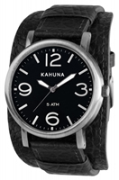 Buy Kahuna Mens Leather Cuff Watch - KUC-0051G online