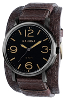 Buy Kahuna Mens Leather Cuff Watch - KUC-0052G online