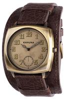 Buy Kahuna Mens Leather Cuff Watch - KUC-0058G online
