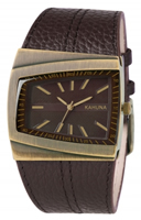 Buy Kahuna Mens Leather Strap Watch - KUS-0072G online