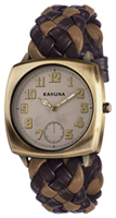 Buy Kahuna Mens Woven Leather Strap Watch - KUS-0074G online