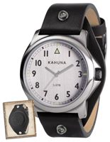 Buy Kahuna Mens Leather Strap Watch - KUS-0077G online