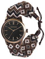Buy Kahuna Mens Woven Fabric Watch - KGF-0006G online