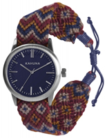 Buy Kahuna Mens Woven Fabric Watch - KGF-0007G online