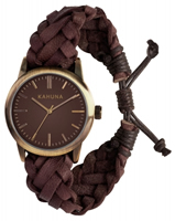 Buy Kahuna Mens Woven Leather Watch - KGF-0008G online