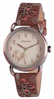 Buy Kahuna Ladies Leather Strap Watch - KLS-0250L online
