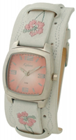Buy Kahuna Ladies Leather Cuff Strap Watch - KUS-0033L online