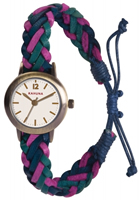 Buy Kahuna Ladies Woven Leather Band Watch - KLF-0020L online