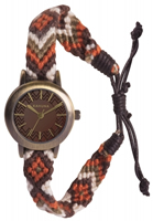 Buy Kahuna Ladies Woven Fabric Band Watch - KLF-0022L online