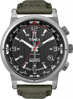 Buy Timex Intelligent Quartz Mens Compass Watch - T2N726 online