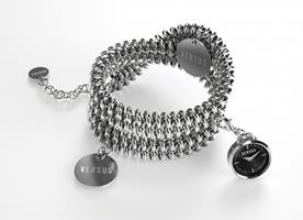 Buy Versus Soft Double-Tour Ladies Charm Bracelet Watch - 3C73600000 online