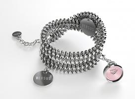 Buy Versus Soft Double-Tour Ladies Charm Bracelet Watch - 3C73800000 online