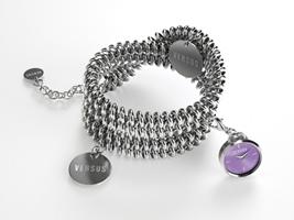 Buy Versus Soft Double-Tour Ladies Charm Bracelet Watch - 3C73900000 online