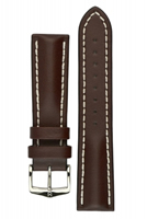 Buy Hirsch Heavy Calf Leather Watch Strap - 01475010-2-20 online